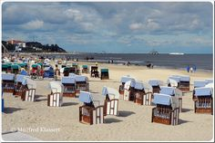 Der Strand von Ahlbeck auf der Insel Usedom • • The beach of Ahlbeck on the island of Usedom • Baltic Sea