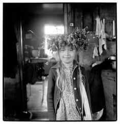 "Inta Ruka. Iveta Tavare, Balvi, Latvia, 1986 from the series ""My Country People"""