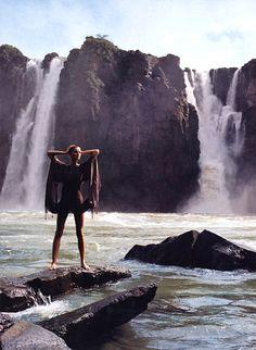 """Dressing Fir Paradise"" | Gisele Bundchen by Patrick Demarchelier - Harpers Bazaar US May 2002"