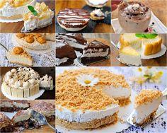 , veloci, ricette sfiziose, semplici, cheesecake, torte fredde, semifreddi, dolci al cucchiaio, dolci monoporzione, idee anche per bambini o per ospiti all'improvviso