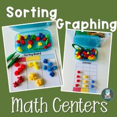 Grab this easy to prepare and teach bear themed math center activities set! Use bear themed printables in your preschool or kindergarten classrooms to build important early math skills. Perfect for whole groups, small groups lessons, as well as center activities. The set included SIMPLE, FUN, and EFFECTIVE number sense, sorting, pattern, measurement and graphing activities. Preschool Math, Kindergarten Classroom, Activity Centers, Math Centers, Build Math, Graphing Activities, Bear Theme, Inspired Learning, Early Math