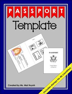 best 25 passport template ideas on pinterest passports for kids passport travel and kids stamps. Black Bedroom Furniture Sets. Home Design Ideas