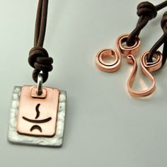 Unitarian Universalist Copper & Pewter necklace... Need.