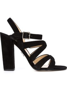 Paul Andrew Strappy Chunky Heel Sandals - Fivestory - Farfetch.com