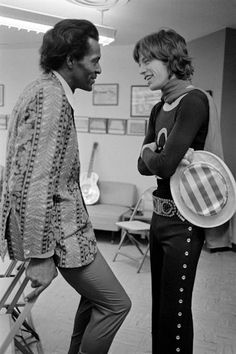 Chuck Berry and Mick Jagger. Enough said.