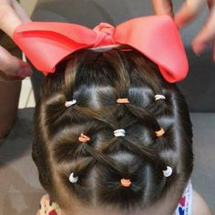 Little Girl Hairstyles Easy Toddler Hairstyles, Cute Little Girl Hairstyles, Baby Girl Hairstyles, Braided Hairstyles, Cool Hairstyles, Cute Hairstyles For Toddlers, Short Hair Cuts For Women, Long Hair Cuts, Short Hair Styles