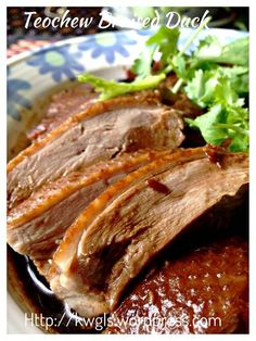 INTRODUCTION There are many many recipes of Teochew style braised ducks. and every household will claim that his or her recipe is the best.However, I dare not to claim that mine is the best or th… Duck Recipes, Asian Recipes, Chicken Recipes, Chinese Recipes, Game Recipes, Healthy Recipes, Braised Duck, Braised Chicken, Bbq Baby Back Ribs