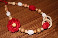This beautiful necklace with beech wooden beads juniper wooden beads and organic cotton thread IS 100% ecological product. This Natural Necklace is nice to have people who appreciate own health and like ecological things. $18.95