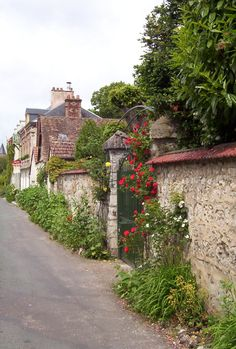 Street,Giverny - France