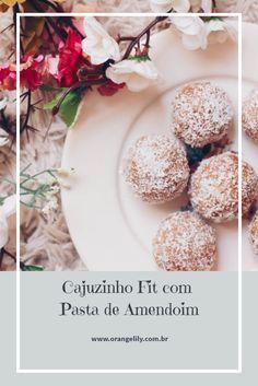 Receita: Cajuzinho Fit com Pasta de Amendoim - #healthy #receita #fit #cajuzinho