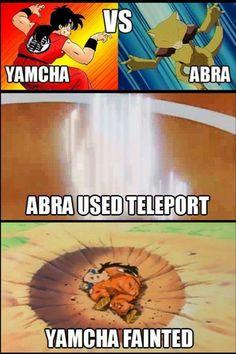 DBZ vs. Pokemon BAHAHAHAHAHAHA it's so true:D