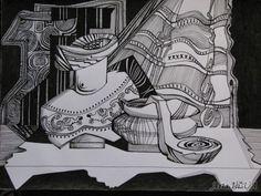 Очень графический натюрморт - Березина Анна