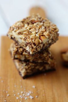 Sweet and Salty Snack Bars via FoodforMyFamily.com