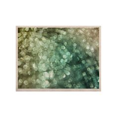 "Debbra Obertanec ""Teal Sparkle"" Green Glitter KESS Naturals Canvas (Frame not Included)"
