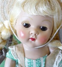 Vogue Vintage 1950's Ginny Doll...love that sweet face