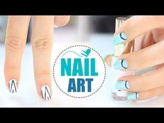 Diseños de uñas fáciles y rápidos. Easy nail art.