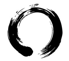 "The Ensō is an unfinished ink circle. ""It symbolizes absolute enlightenment, strength, elegance, the universe, and the void; it can also symbolize the Japanese aesthetic itself. As an ""expression of the moment"" it is often considered a form of minimalist expressionist art.""    - David Ceng / Beautiful simple option for nipple replacement or mastectomy tattoo. [p-ink.org]"