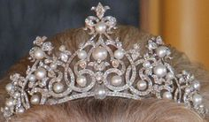 The Württemberg Ornate Pearl Tiara , Dutch Royal Family