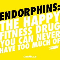 Endorphin boost, anyone? #healthaddiction #happiness