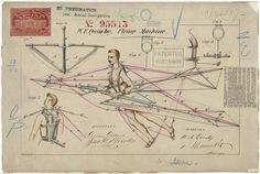 La máquina voladora de W. F. Quinby patentada en 1869