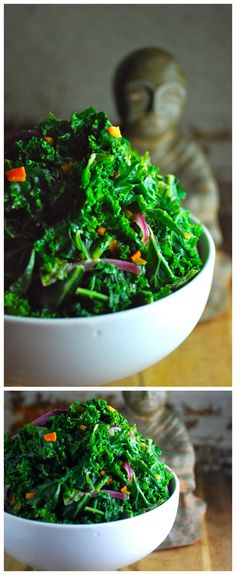 Reader favorite for 2014: Thai Kale Salad with Coconut Lime Dressing - delicious, plus it's easy, healthy and ready in 15 minutes.