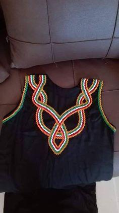 Chudi Neck Designs, Abaya Fashion, Crochet Necklace, Chiffon, Neckline, Projects, Clothes, Style, Babydoll Sheep