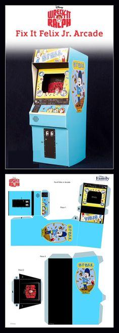Miniature arcade ga.e
