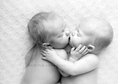 Newborn Twins - http://www.capturedbycarrie.com