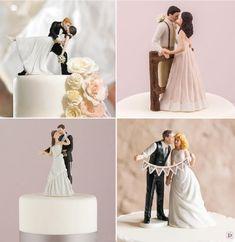 figurine pièce montée romantique