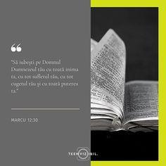 """Isus nu ne-a poruncit să avem un timp de părtășie cu El în fiecare zi. Cu toate acestea El ne-a spus că """"cea dintâi și cea mai mare poruncă este să Îl iubim cu tot sufletul și cugetul nostru"""". Dacă îl iubim pe Dumnezeu vom dori inevitabil să venim în prezența lui Dumnezeu să citim din Cuvântul Său să ne rugăm și să ne închinăm Lui.  Atunci motivația noastră se va schimba din vinovăție în dragoste.  Text inspirat din 'Dragoste nebună' de Francis Chan  #teenvizibil #hope #faith #verset… Leo Zodiac Facts, Pisces Zodiac, Francis Chan, Stay Strong Quotes, Moise, New Beginning Quotes, Friendship Day Quotes, Beth Moore, Teen Quotes"""