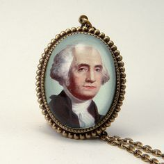 George Washington Necklace now featured on Fab.