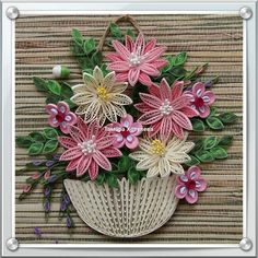 Quilling and paper work Ideas Quilling, Quilling Flowers Tutorial, Quilling Videos, Arte Quilling, Quilling Comb, Paper Quilling Flowers, Paper Quilling Cards, Paper Quilling Patterns, Quilled Paper Art