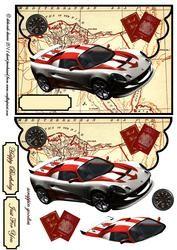 Flying Sports Car