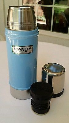 Stanley Stainless Thermos 16 Ounces Green Classic Aladdin Vacuum Bottle for sale online Stanley Cooler, Aladdin, Stanley Thermos, Coffee Thermos, Hiking, Tent Camping, Kitchen And Bath, Lunch Box, Perfume