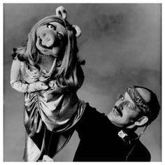 @Tanya Weber Frank Oz was the puppeteer for a number of characters including Miss Piggy, Fozzie Bear, Animal, Sam the Eagle, and Sesame Street's Cookie Monster, Grover, Bert and more.