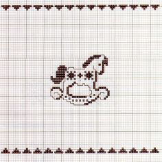 Krása je všude pro toho, kdo ji chápe a chce Cross Stitch Horse, Xmas Cross Stitch, Cross Stitch For Kids, Cross Stitch Baby, Cross Stitch Animals, Cross Stitch Charts, Cross Stitch Designs, Cross Stitching, Cross Stitch Embroidery