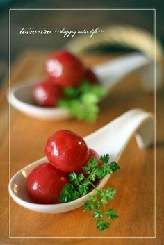 プチトマトのハニーマリネ♪