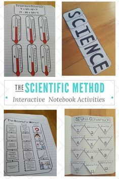 Engaging interactive notebook activities for the scientific method. My students…