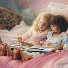 anjos lendo