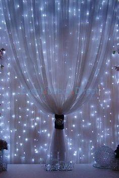 17 best Rideaux lumineux images on Pinterest | Curtains, Light ...