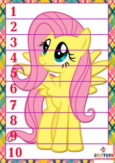 My Little Pony Learning Worksheets - Bing images Fall Preschool Activities, Kids Learning Activities, Preschool Worksheets, Numbers For Kids, Numbers Preschool, Child Teaching, World Thinking Day, Early Math, Math Projects