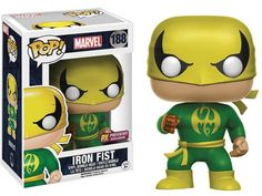 New Previews Exclusive Marvel Funko POP! Vinyl Figures Including Iron FIst, Cage & Black Bolt