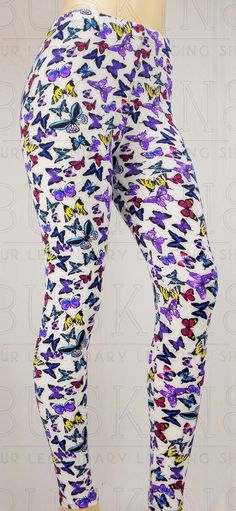 Flutterby Buskins, please use my referral name: Allison Lohmuller Buskins Leggings, Queen Costume, Butterfly Print, Tight Leggings, Workout Wear, Passion For Fashion, Yoga Pants, Skater Skirt, Shop Now