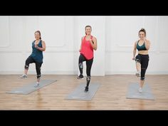 15-Minute No-Equipment, Full-Body Tabata Workout - YouTube