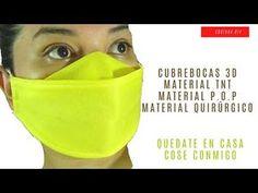 Easy Face Masks, Diy Face Mask, Sewing Stitches, Sewing Patterns, Tapas, Mascara 3d, Costura Diy, Diy Christmas Tree, Diy Mask