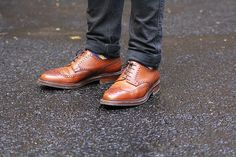 Jeans by Acne, and Pembroke brogues by Crockett and Jones | British menswear www.danieljenkins.co.uk