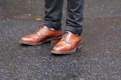 Jeans by Acne, and Pembroke brogues by Crockett and Jones | British menswear www.danieljenkins.co.uk