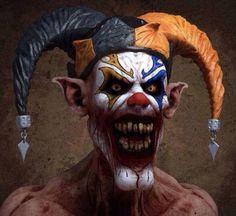 New Brand Designer Joker Casual Messenger Bags for Men Women Boys Casual Crossbody Bags Purse,Clown Printed Small Travel Bags Zombie Monster, Creepy Monster, Creepy Clown, Creepy Stuff, Creepy Art, Arte Horror, Horror Art, Spooky World, Evil Jester