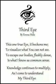 The Third Eye Chakra, also known, as your pineal gland. Chakras, Third Eye Tattoos, 3rd Eye Tattoo, Zen Tattoo, Eye Tattoo Meaning, Namaste Tattoo, Shiva Tattoo, Unalome Tattoo, Chakra Symbole