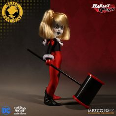 """Mezco Summer Exclusive - Classic Harley Quinn Unmasked 10"""" $55.00"""